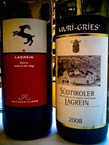 Lagrein Muri Gries und Rottensteiner