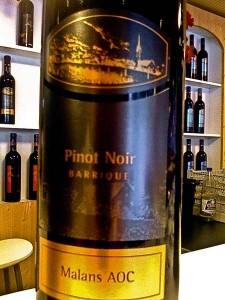 Malans AOC Pinot Noir Barrique 08