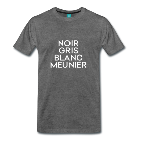 Styles of Pinot - Noir, Gris, Blanc, Meunier - the Shirt