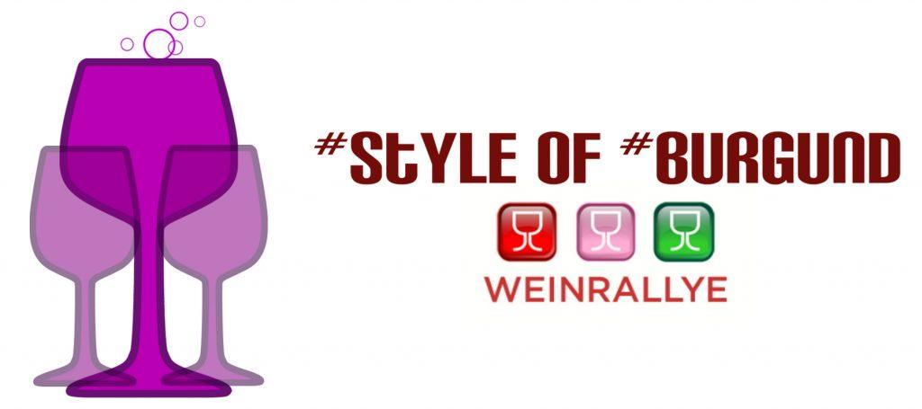 Pinot vs. Burgunder - Style of Burgund. Logo zur Weinrallye