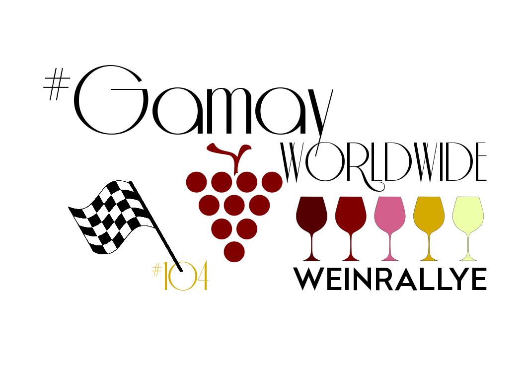 Logo zur WeinRallye Gamay Worldwide