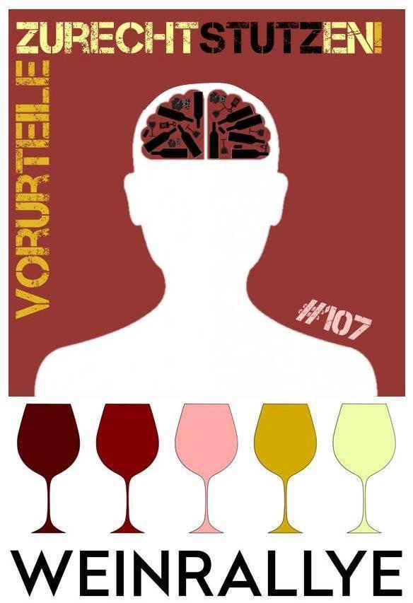 Logo zur Weinrallye 107 Vorurteile zurechtstutzen