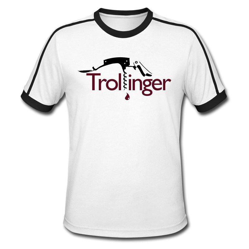 Trollinger – ein Missverständnis auf Schwäbisch? Ein Shirt für Kenner, nicht nur aus Württemberg :-)