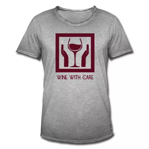 Wine with Care - Baccantus Shirt.