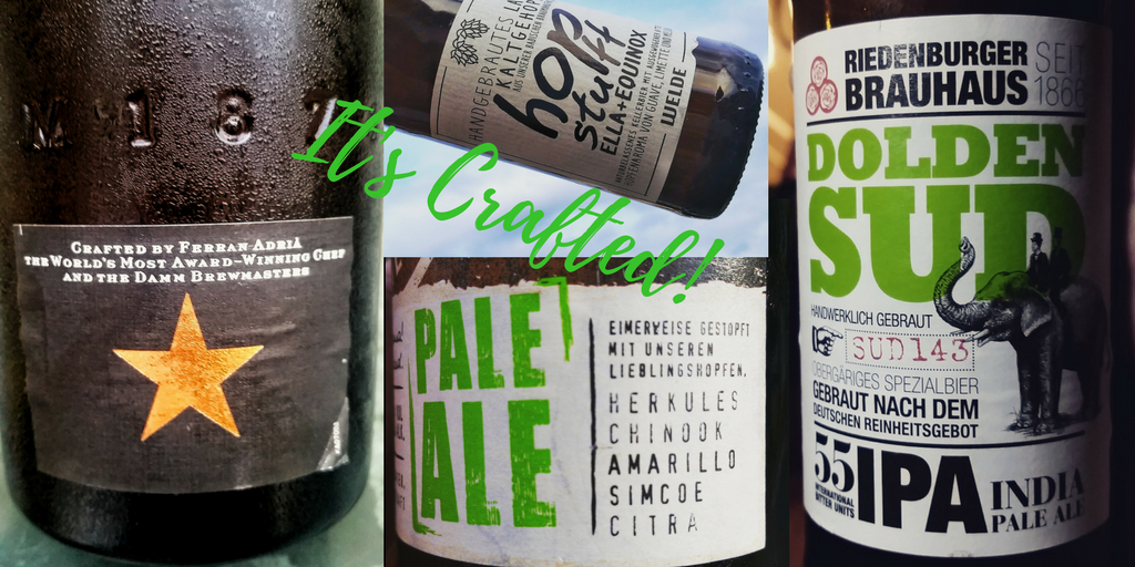 It's crafted! Pale Ale und andere Craft Beer Sorten.